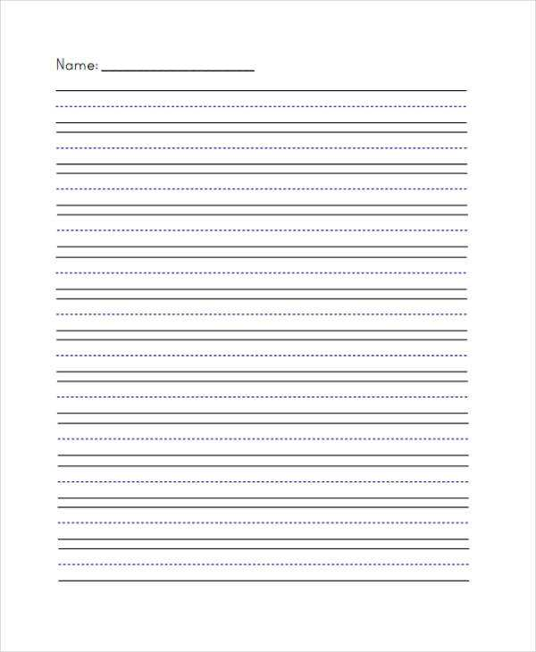 Blank Handwriting Worksheets with Lined Handwriting Paper Guvecurid