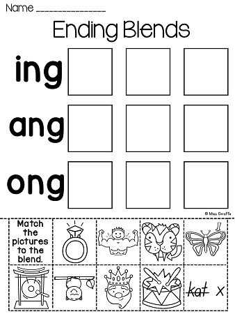 Blending Words Worksheets as Well as 31 Best Fundations Images On Pinterest