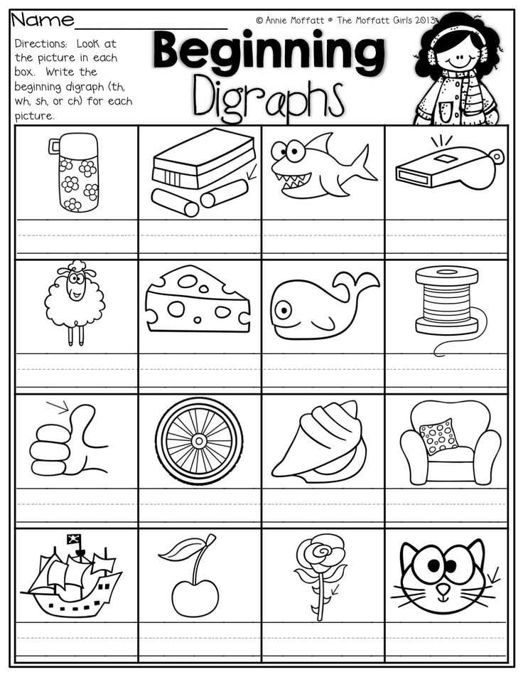 Blending Words Worksheets together with 110 Best School Literacy Phonics Digraphs Images On Pinterest