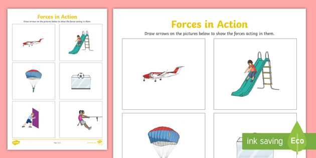Calculating force Worksheet with Labelling forces Worksheet forces forces Worksheet forces