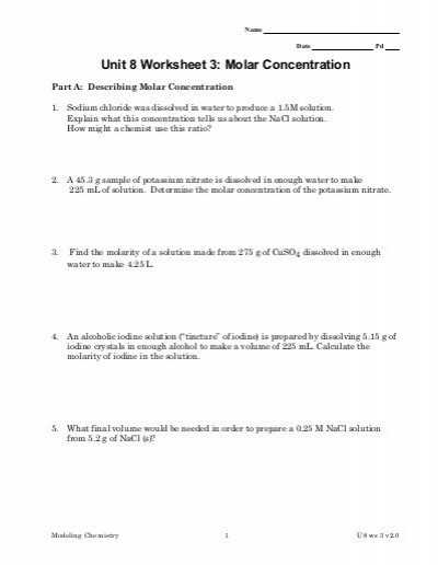 Calculating Specific Heat Worksheet or Lovely Mole Calculation Worksheet Inspirational Concentration