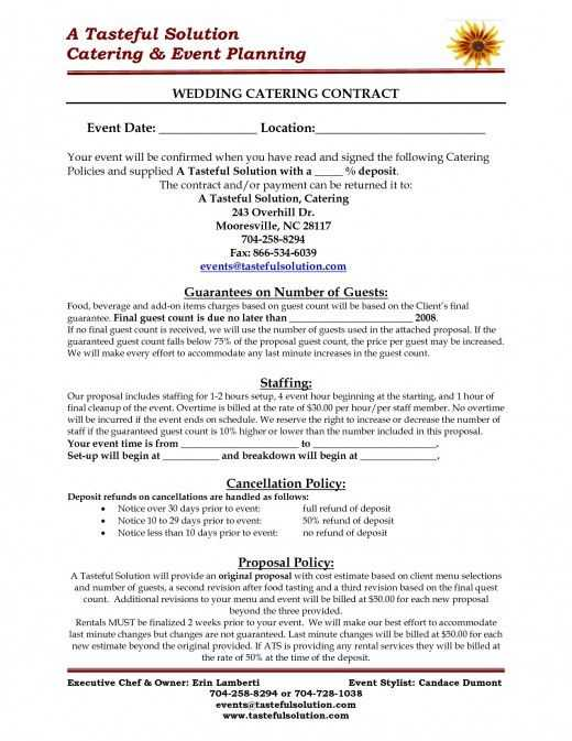 Catering Contract Worksheet together with 14 Best Catering Menus Chicago Food Trucks Holidays 2012 Images