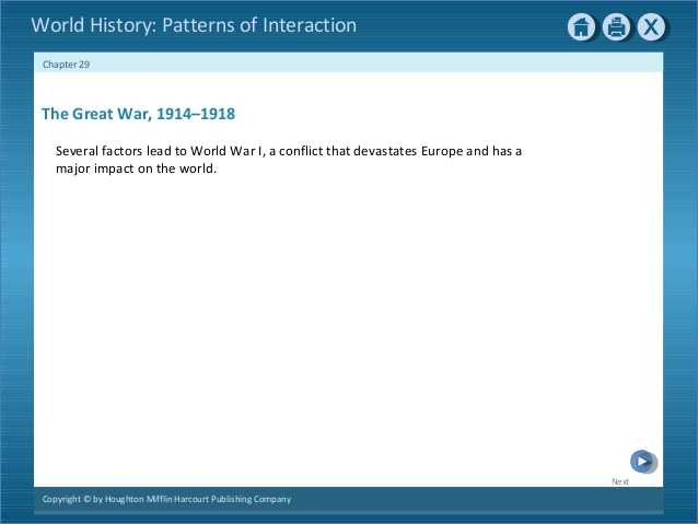 Chapter 11 Section 1 World War 1 Begins Worksheet Answers and Chapter 29 1 638 Cb=
