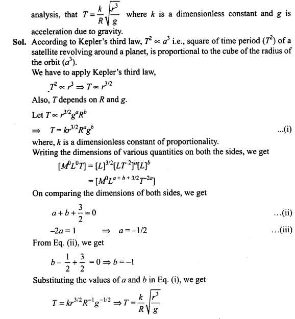 Chapter 13 Universal Gravitation Worksheet Answers as Well as Ncert Exemplar Problems Class 11 Physics Chapter 1 Units and