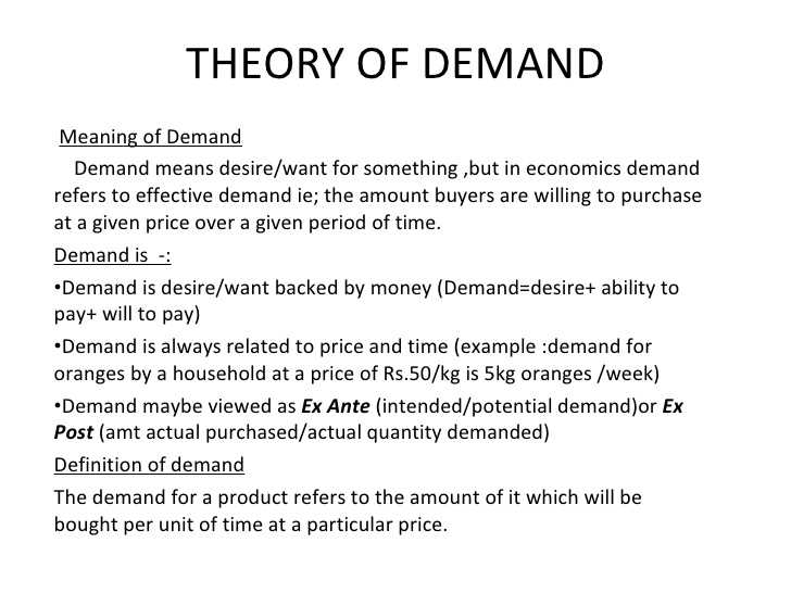 Chapter 4 Section 1 Understanding Demand Worksheet Answers and theory Demand 1