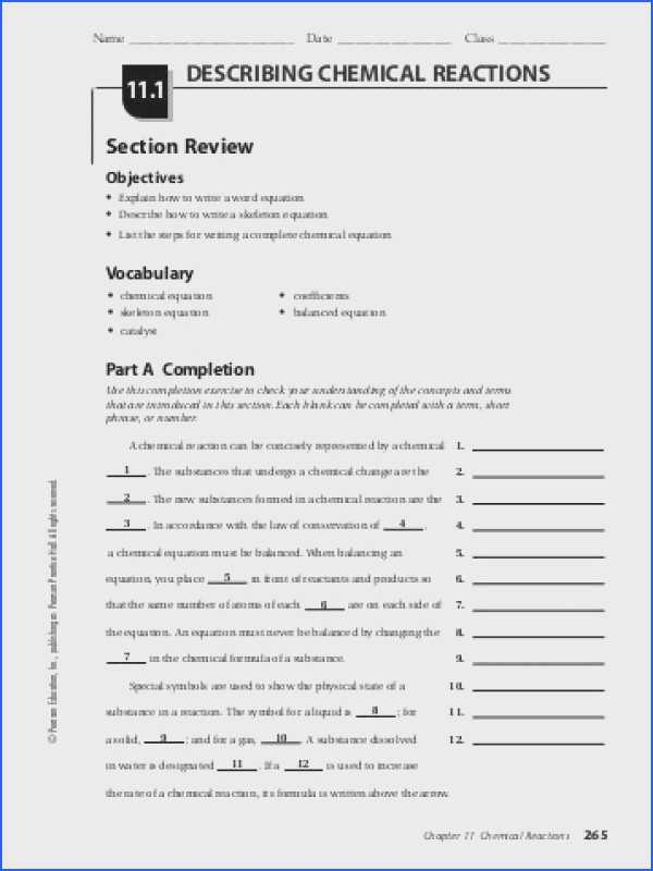 Chemical Reactions Worksheet together with Classifying Chemical Reactions Worksheet