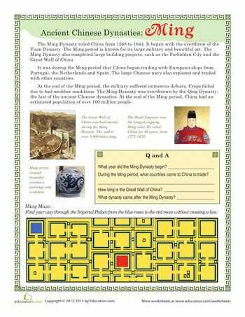 Chinese Dynasties Worksheet Pdf Along with 27 Best China Images On Pinterest