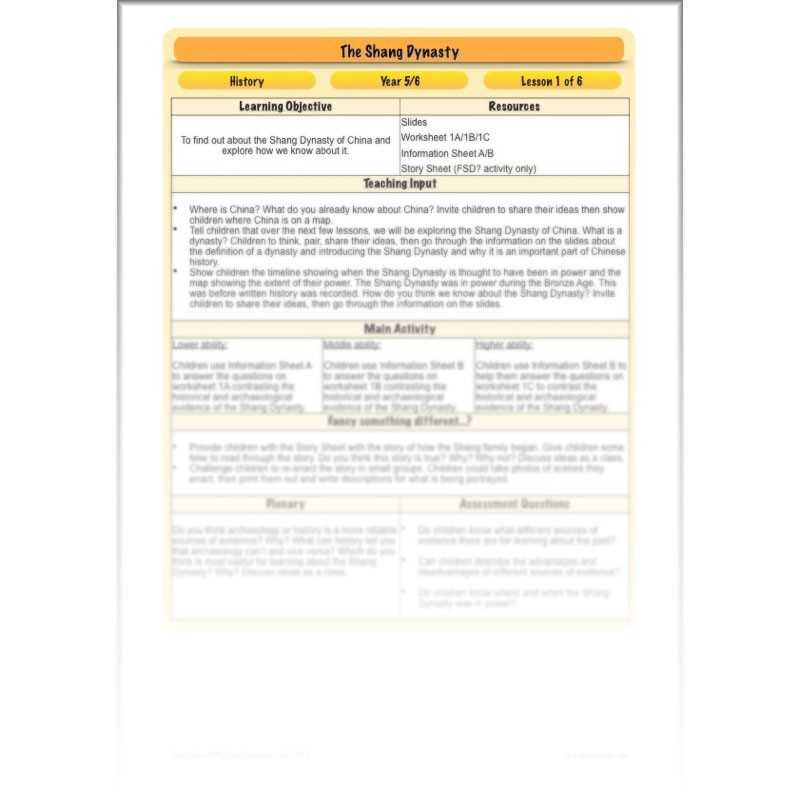 Chinese Dynasties Worksheet Pdf Also the Shang Dynasty Ks2 China Ks2