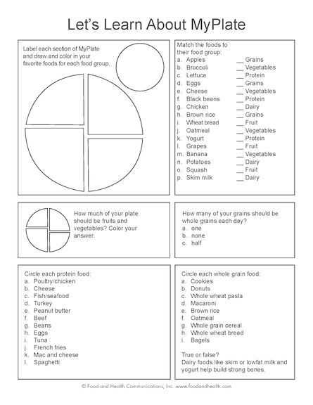 Choose My Plate Worksheet Along with 443 Best Fcs Nutrition and Wellness Images On Pinterest