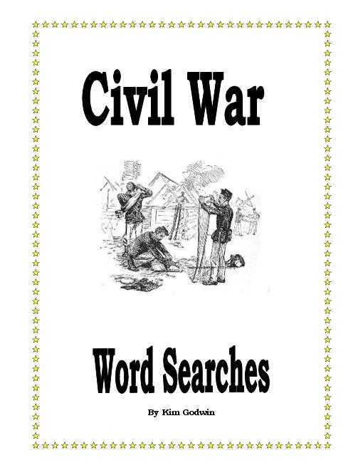Civil War Causes Worksheet Answer Key Also Civil War Word Search Packet Includes Answer Keys