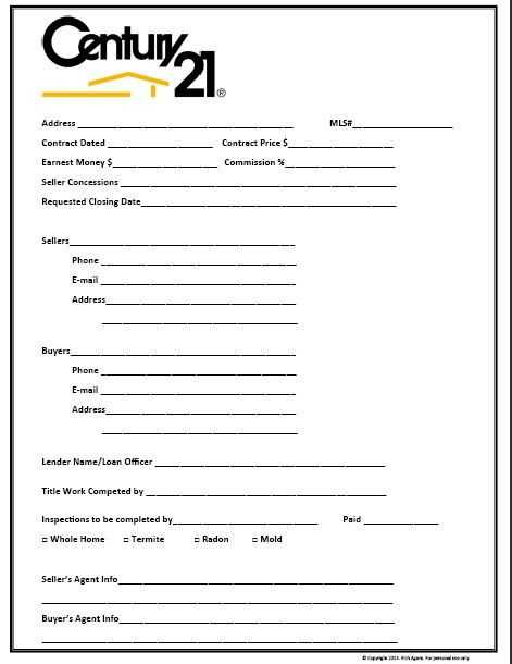 Closing Cost Worksheet Also Buyer Contact form