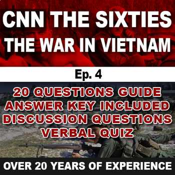 Cnn Student News Worksheet Along with the Sixties Cnn Ep 4 the War In Vietnam by social Stu S Megastore