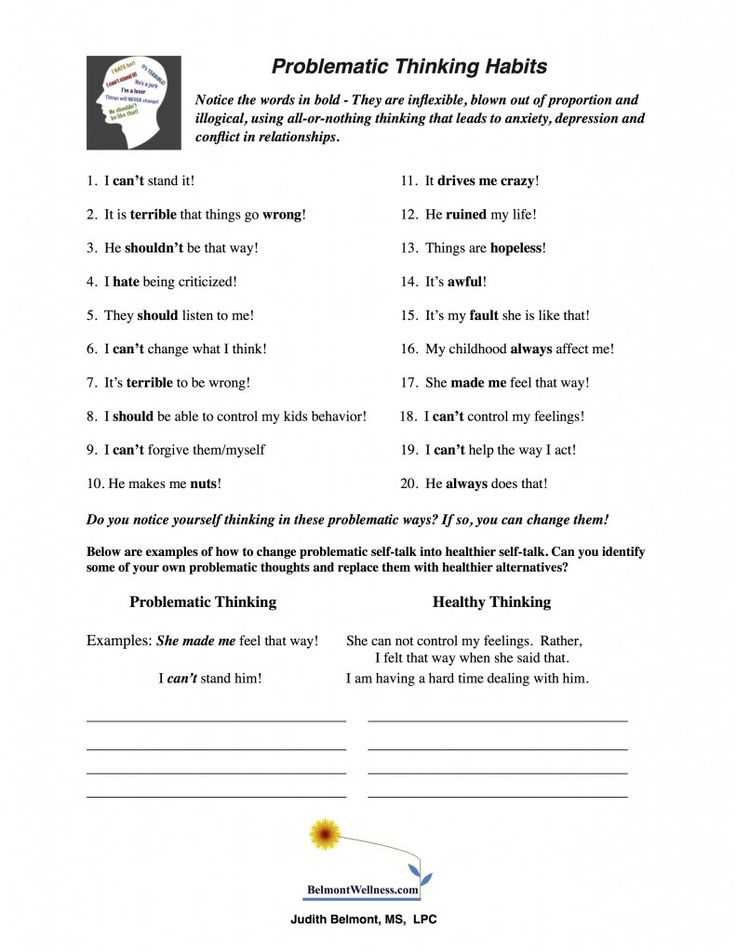 Cognitive Distortions therapy Worksheet Along with 55 Best My Own Self Help Books Images On Pinterest
