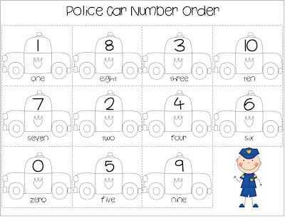 Community Helpers Police Officer Worksheet with 39 Best Munity Helper Police Images On Pinterest