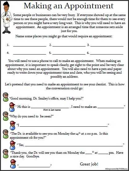 Community Living Skills Worksheets and 22 Best Work Based Learning Images On Pinterest