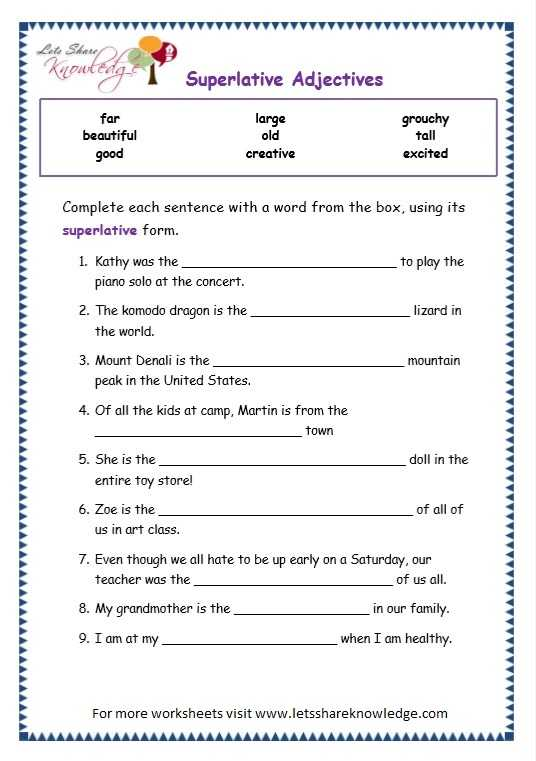 Comparison Of Adverbs Worksheet and Parative Adjectives Worksheet the Best Worksheets Image