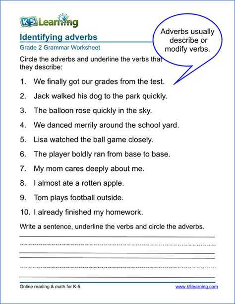 Comparison Of Adverbs Worksheet with Adverb Worksheet