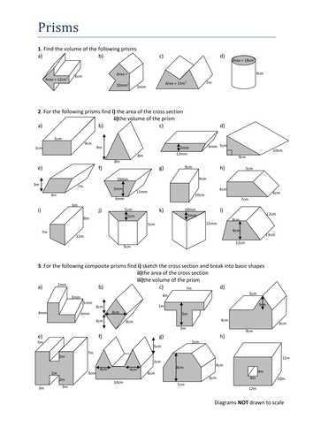 Compound Shapes Worksheet Answer Key and Volume & Surface area Cylinder by Jamescmartin Teaching Resources
