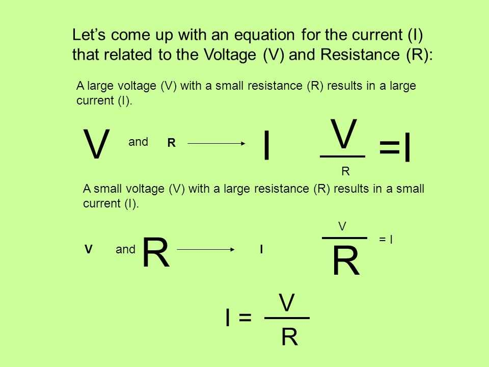 Current Voltage and Resistance Worksheet or Ohm S Law Objective Tsw Understand the Concepts Of Voltage Current