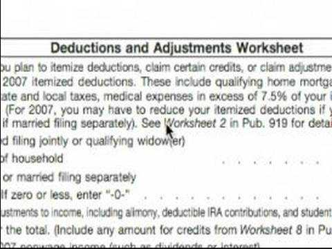 Deductions and Adjustments Worksheet as Well as Deductions and Adjustments Worksheet W4 Deductions and Adjustments
