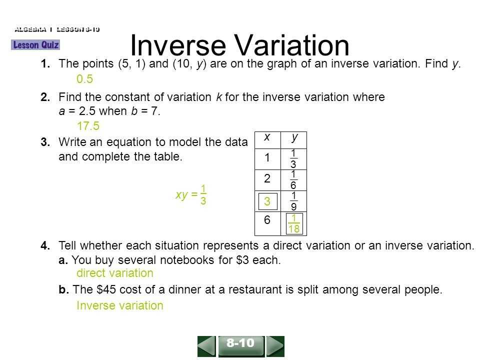 Direct Variation Worksheet with Answers as Well as 26 Awesome S Direct and Inverse Variation Word Problems