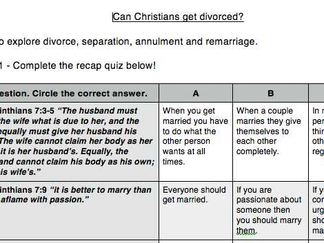 Divorce Annulment Worksheet as Well as thewiseowl S Shop Teaching Resources Tes