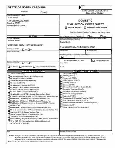 Divorce Annulment Worksheet together with Domestic Relations Cover Sheet and Instructions Arkansas Legal