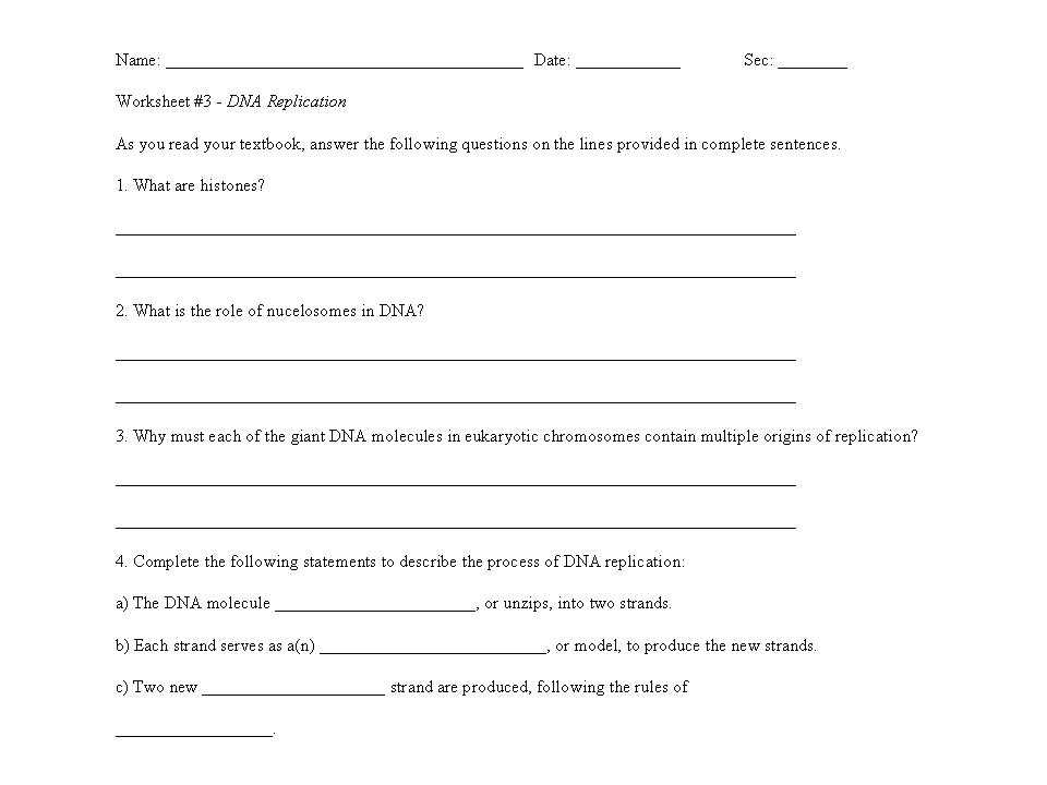 Dna Replication Worksheet Key Along with Lovely Dna Replication Worksheet Answers Unique Dna Replication