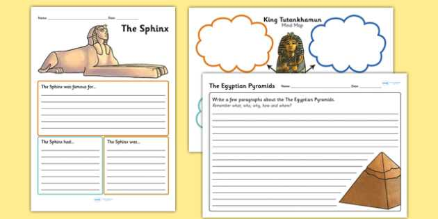 Early African Civilizations Worksheet Answers or Ancient Egyptian Mind Maps and Worksheets Ancient Egypt
