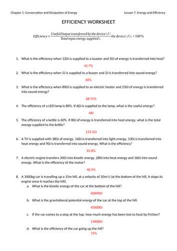 Electrical Power Worksheet Answers or Mr Ansell S Resources Shop Teaching Resources Tes