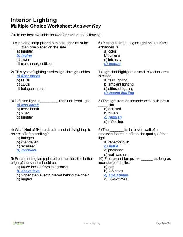 Electron Energy and Light Worksheet Answers Along with Interior Lighting Guide Interior Lighting Bringing Rooms to Life