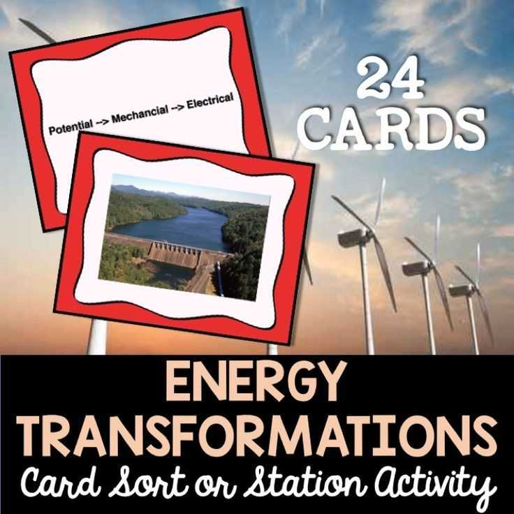 Energy and Energy Transformations Worksheet Answer Key Along with 16 Awesome Energy Transformation Worksheet Answers