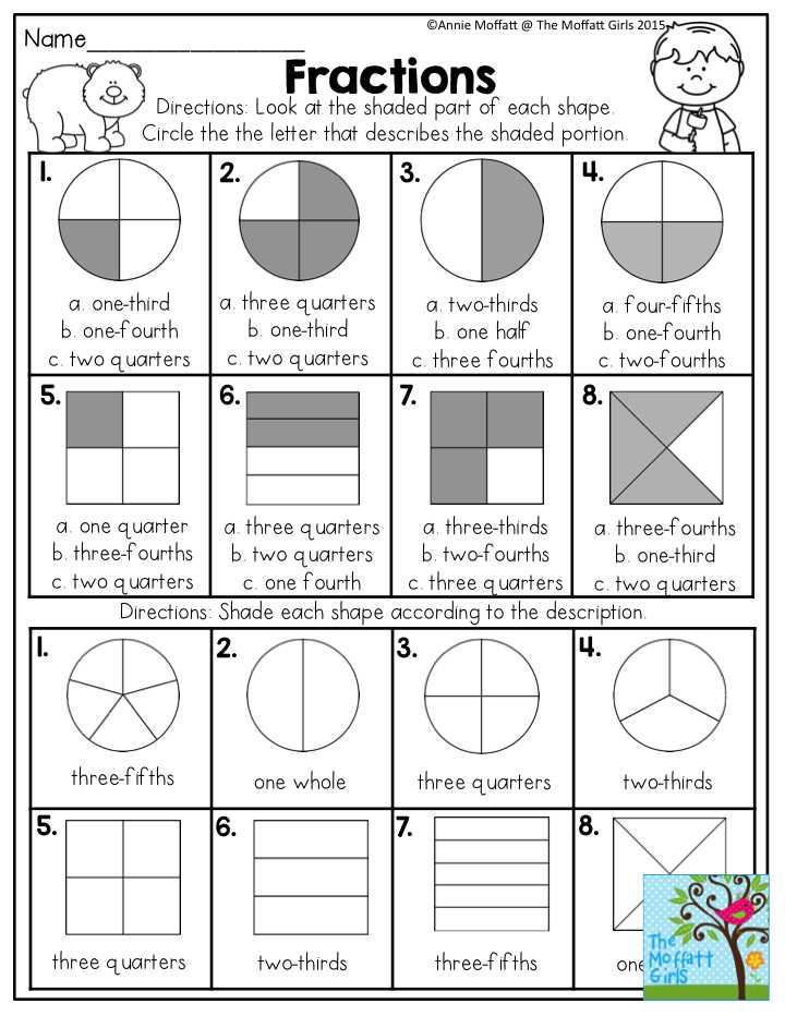 Equal Groups Worksheets as Well as Fractions Look at the Shaded Part Of Each Shape and Circle the