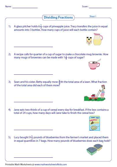Equitable Distribution Worksheet Pa as Well as Fraction Word Problems Worksheets