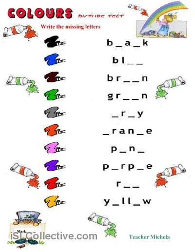 Esl English Worksheets together with 20 Best Esl Vocabulary Colors Images On Pinterest