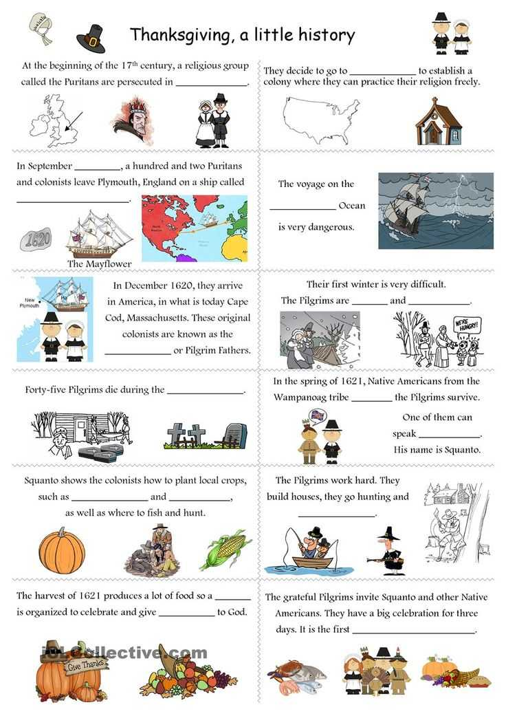 Esl Thanksgiving Worksheets Adults Also 258 Best Celebrations and Festivities Images On Pinterest