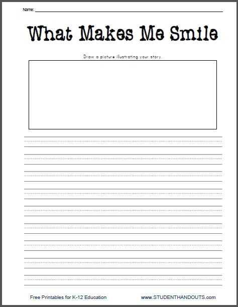 Essay Writing Worksheets and 2524 Best First Grade Writing Images On Pinterest