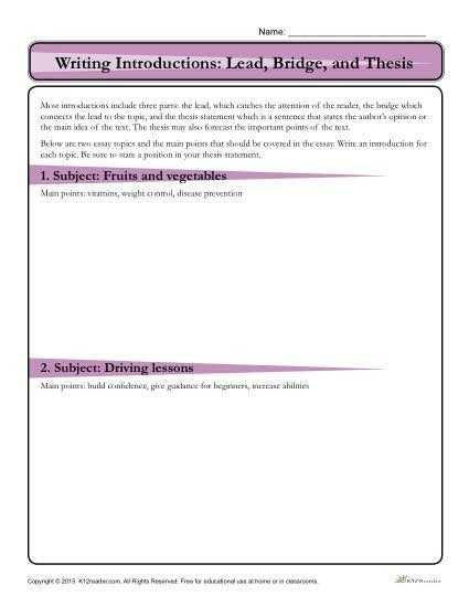 Essay Writing Worksheets as Well as 83 Best Essay Writing Images On Pinterest