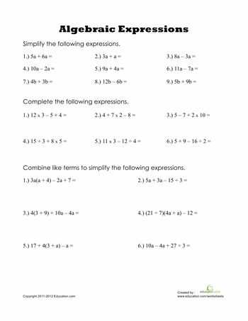 Evaluating Expressions Worksheet Also 695 Best Mathematics Grade 8 Calculus Images On Pinterest