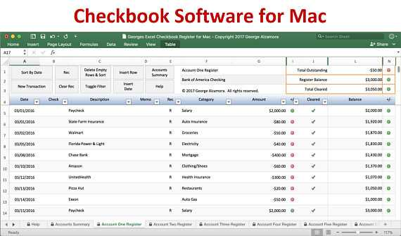 Excel Checkbook Register Budget Worksheet as Well as Checkbook Register for Mac Excel Checkbook Spreadsheet