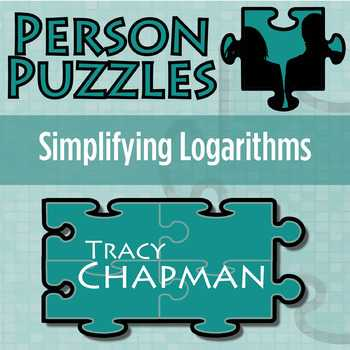 Expanding and Condensing Logarithms Worksheet with Logarithms Puzzles Teaching Resources