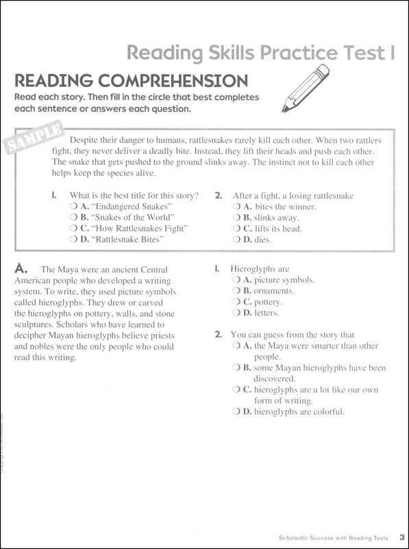 Exploring Biomes Worksheet Answers with Reading Tests Grade 6 Scholastic Success Wit Details