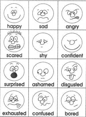 Feelings and Emotions Worksheets Printable and 194 Best Emotions Gevoelens Images On Pinterest