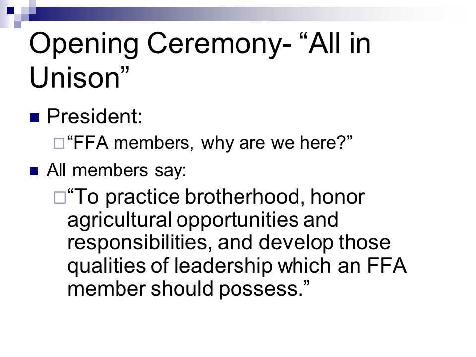 Ffa Officer Duties Worksheet and Objective 1 01 Examine Leadership Opportunities to the