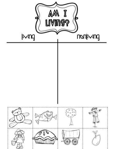 First Grade Science Worksheets Along with 79 Best Living and Non Living Things Images On Pinterest