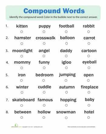 First Grade Spelling Worksheets with 10 Best Pound Words Images On Pinterest
