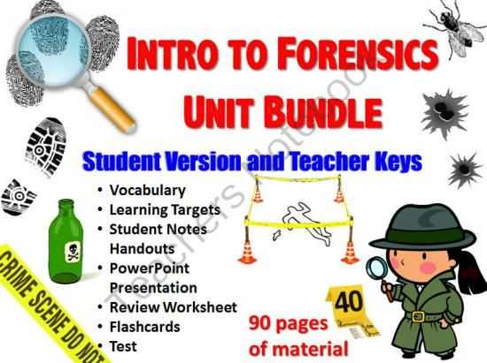 Forensic Science Worksheets Also 676 Best Science 6th 12th Grade Images On Pinterest