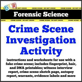 Forensic Science Worksheets and Dna Fingerprinting Worksheet forensic Science Fingerprint Activity