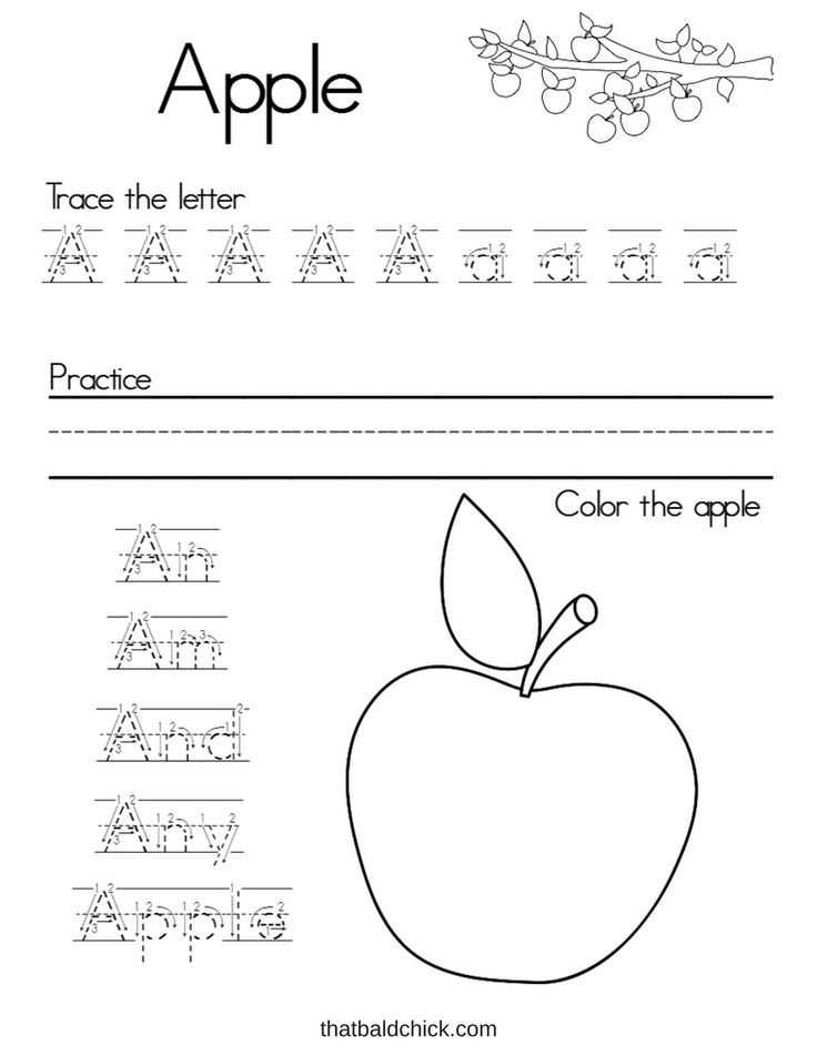 Free Alphabet Worksheets with Lette A Free Printable Printables for Kids Pinterest