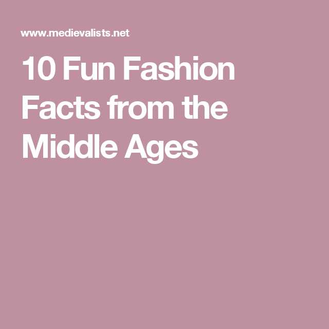 Free Ged social Studies Worksheets and 10 Fun Fashion Facts From the Middle Ages School
